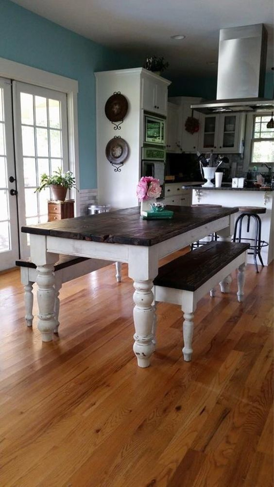 Image Result For Pine Dining Room Table