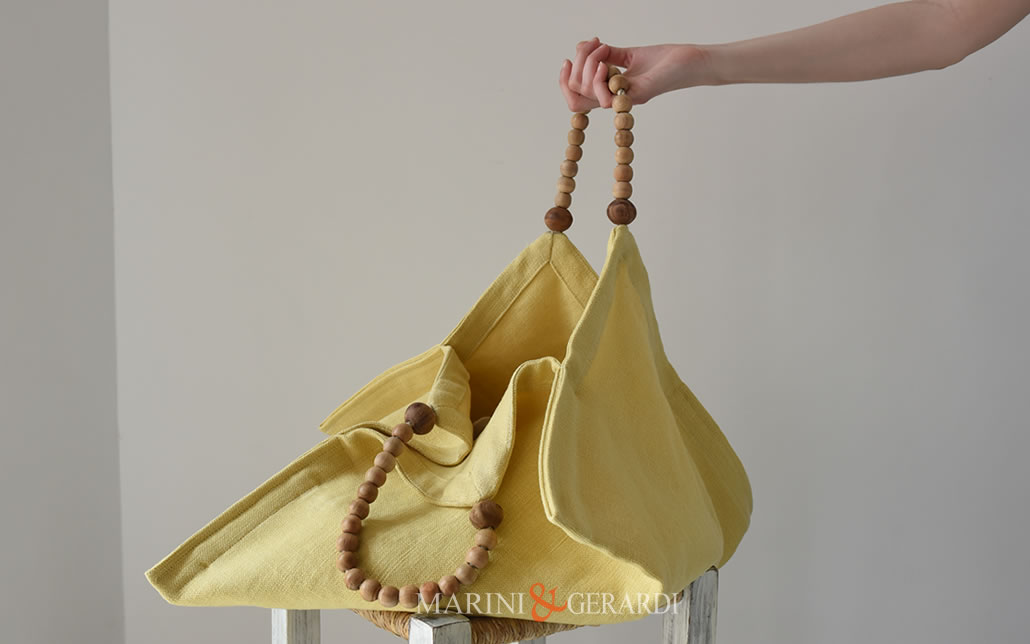 borsa tracolla fanny yellow bag moda estate 2020